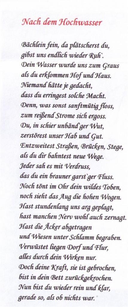 Gedicht (Groß)