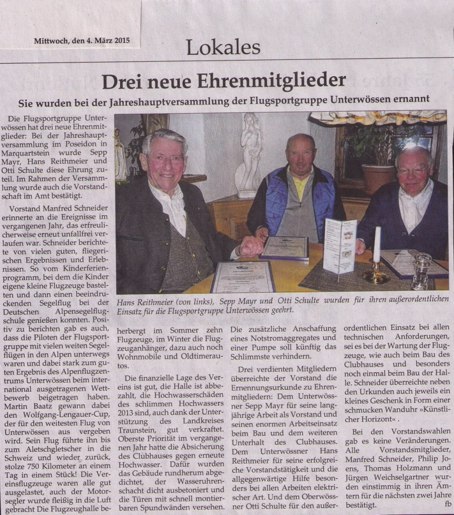 Traunsteiner Tageblatt